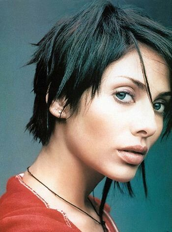 Apparently I want the uneven, choppy hairstyle of a late 90s singer who had a few maddeningly addictive songs, but hasn't been seen since.