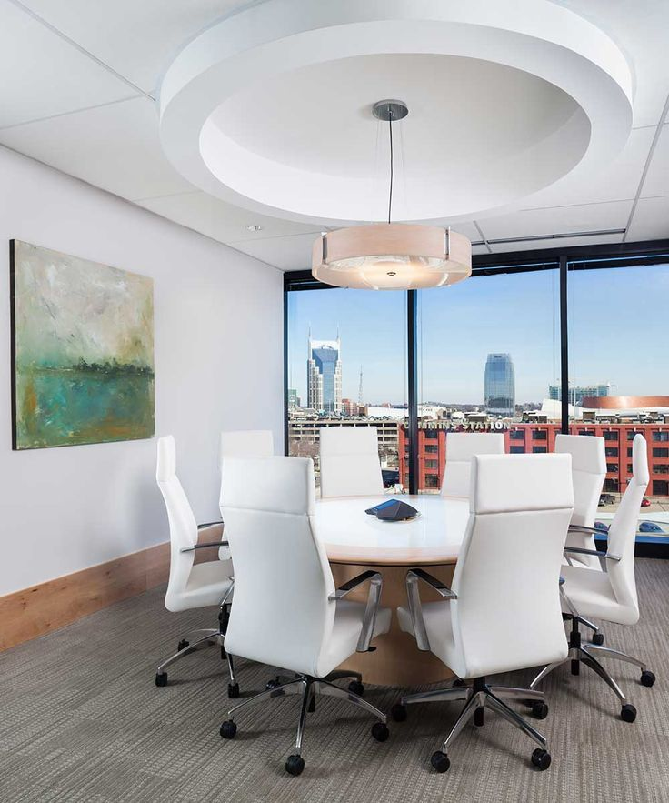Meeting Room At The Raymond James Office Nashville TN Interior Design