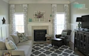 pewter benjamin moore paint | Benjamin Moore Revere Pewter Gray Living Room Paint Color | Involving ... by roze  ran