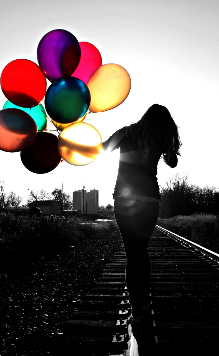 My same balloon picture with a little twist. :)