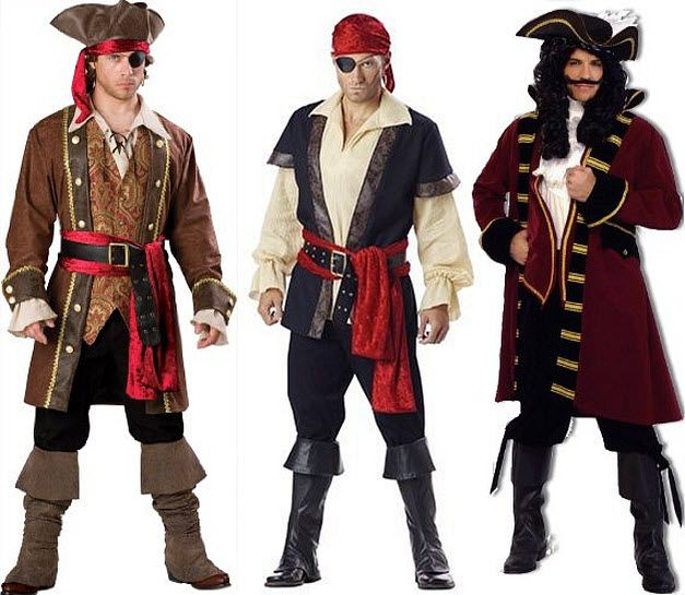 pirate costumes for men findabuy - Halloween Pirate Costume Ideas