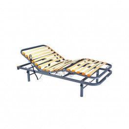 Cama Eléctrica GERIA. Cama electrónica articulada de 4 planos GERIA .Es una cama geriátrica con motorización de alta calidad con mando de 6 botones y batería de seguridad. Incorporan como estándar patas regulables en altura.