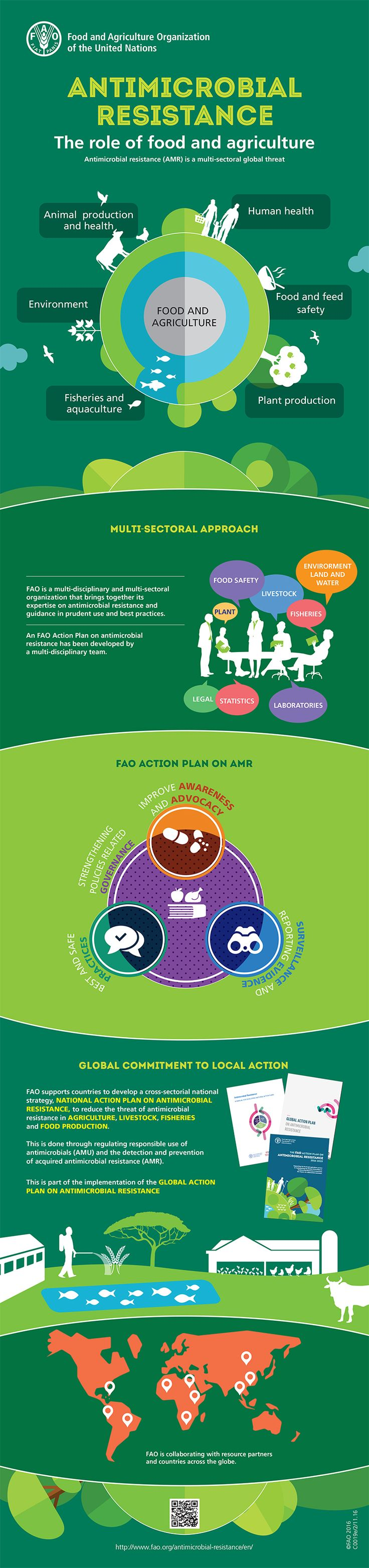 Antimicrobial Resistance: The Role of Food and Agriculture