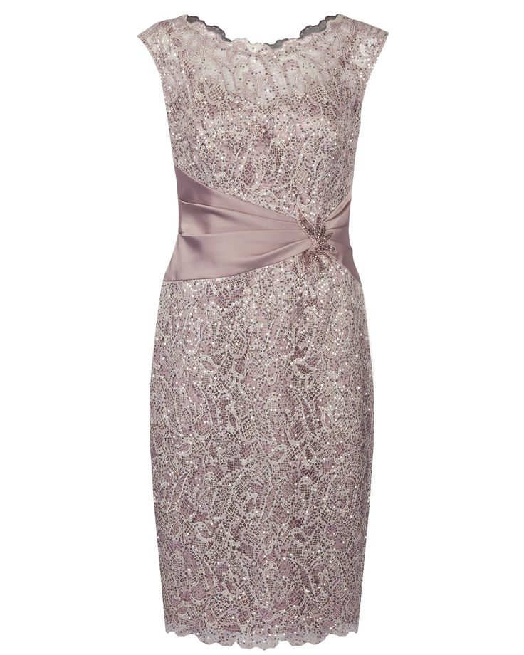 Peony All Over Sequin Lace Dress
