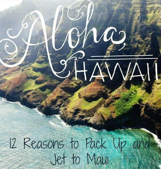 12 Must See spots on any Maui, Hawaii honeymoon or vacation Read more: http://lindseycatarino.com/12-reasons-to-pack-up-and-jet-to-maui/