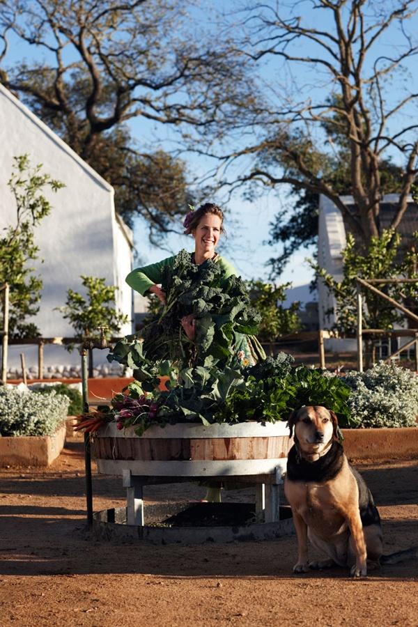 Babylonstoren // A working farm/luxury hotel in South Africa
