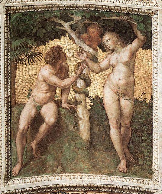 Αδάμ και Εύα. (1511)