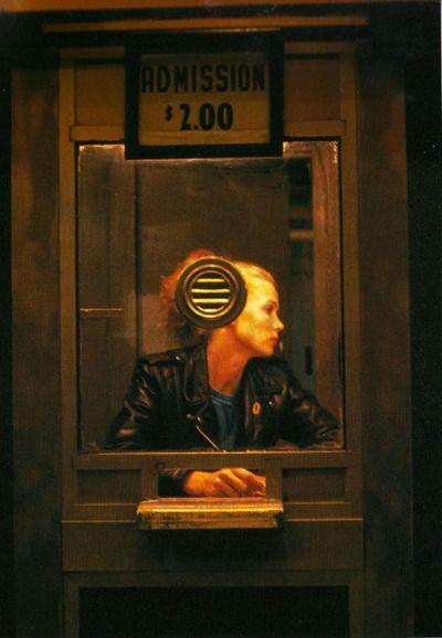flashofgod:  Nan Goldin, Variety Booth, New York City, 1983.