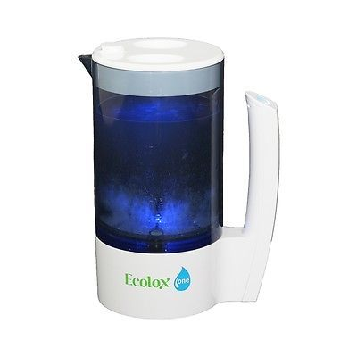 Ecolox One - Home Unit. Electrolyzed Superoxidized Water. Hypochlorous Acid.