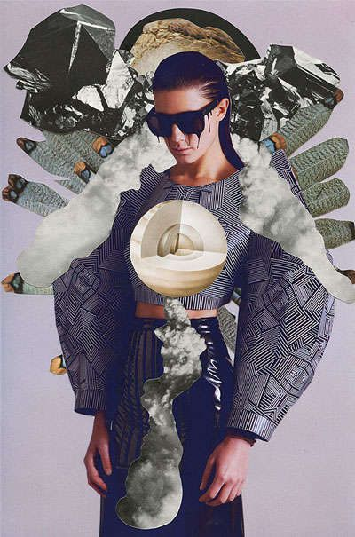 Avant-Garde Fashion Collages - Dash Magazine by Ashkan Honarvar Showcases Excess in Minimalism (GALLERY)