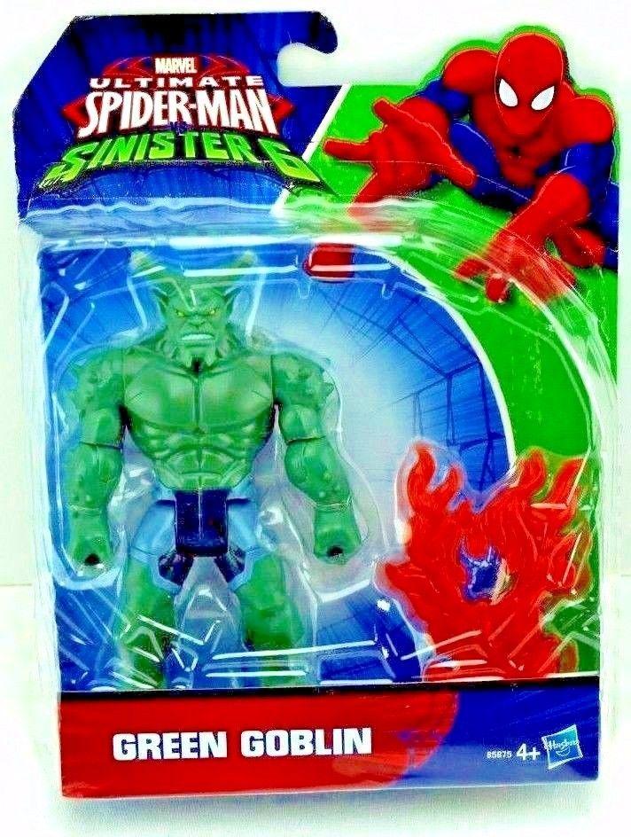 "Ultimate Spiderman VS Sinister 6 Marvel's GREEN GOBLIN 5"" Action Figure Hasbro"