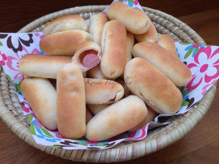 hot-dog, Kocsis Hajnalka receptje, www.mokuslekvar.hu