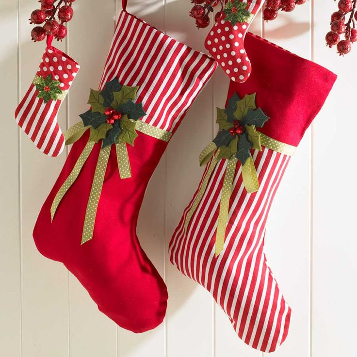 christmas stockings christmas dcor holiday bebe traditional - Christmas Stocking Design Ideas