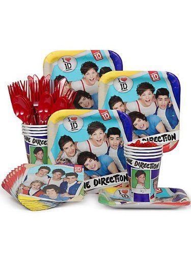 One Direction Standard Kit (Serves 8) $8.25 #topseller