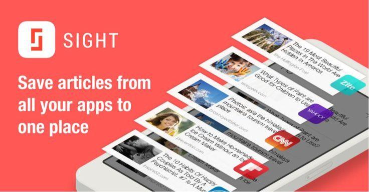이미지 검색 기반의 스마트 스크랩 애플리케이션, Sight: 다른 앱들과 달리 관심있는 콘텐츠의 스샷을 찍으면 자동으로 앱에서 이미지를 분석해 동일한 콘텐츠를 리스트 형태로 제공해준다. 다른 앱과 달리 한 곳에 스크랩한 정보를 모을 수 있다는 것이 장점. 게다가 스크랩 횟수 등으로 소셜 트렌드 등을 리포트받을 수도 있다. 2014년 7월에 배포. https://itunes.apple.com/us/app/sight-save-articles-by-capturing/id886107929?mt=8