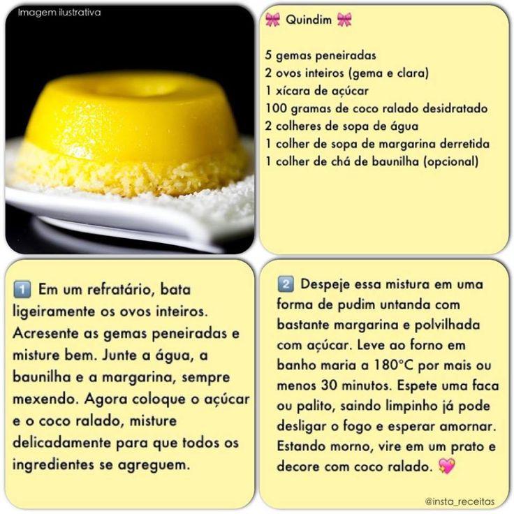 Quindim - Gastronomia Brasileira