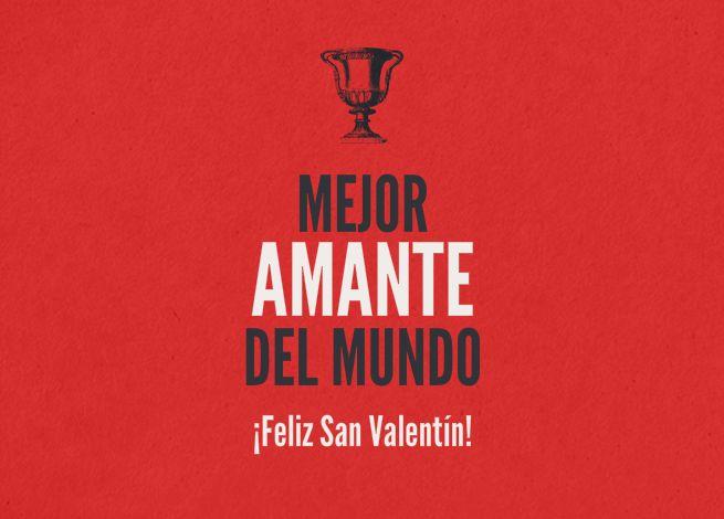 Felicitación San Valentín al mejor amanate Valentine to best loverhttp://www.invitaenunclic.com/es/invitacion/categoria/san-valentin