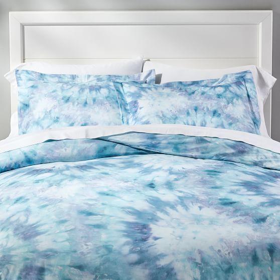 Tie Dye Dreams Duvet Cover Sham Tie Dye Bedding Guest Room Bed Sham Bedding