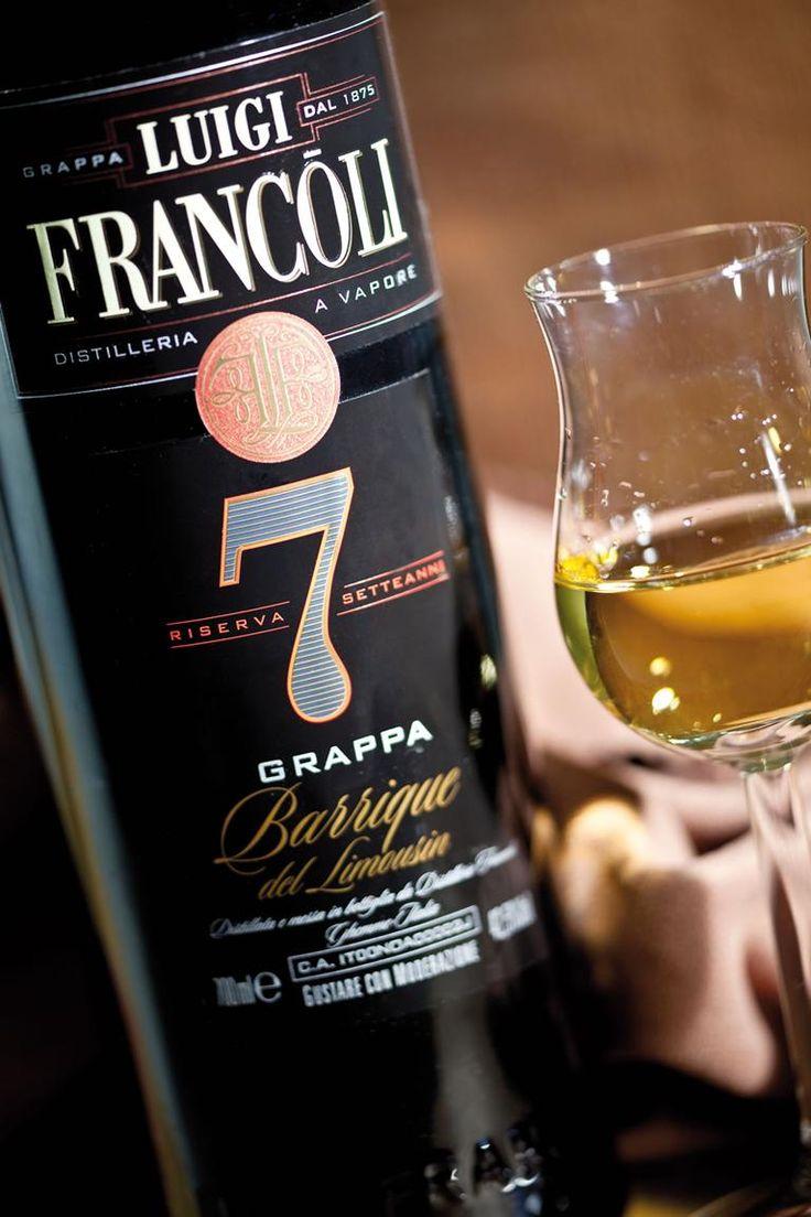 Grappa Luigi Francoli Riserva 7 anni #grappa #grappafrancoli