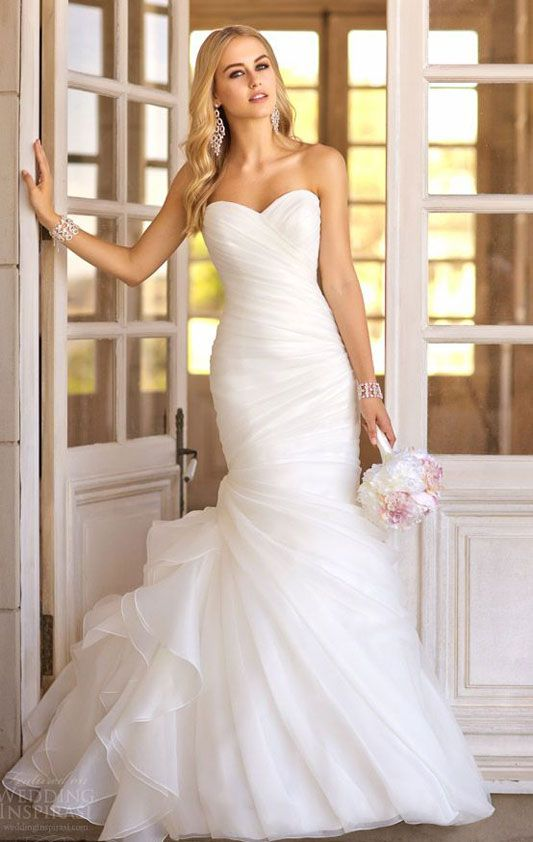 Beautiful gown, great for destination weddings - available at Christy's Bon Bon Belle in Burlington, WI