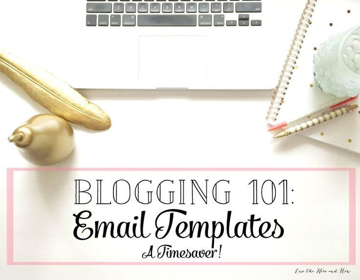 Creating email templates...a huge timesaver! (scheduled via http://www.tailwindapp.com?utm_source=pinterest&utm_medium=twpin&utm_content=post1142233&utm_campaign=scheduler_attribution)