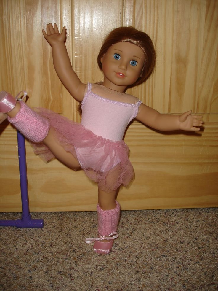 """Free ballet outfit tutorial, for 18"""" dolls (using Liberty Jane free swimsuit pattern)"""
