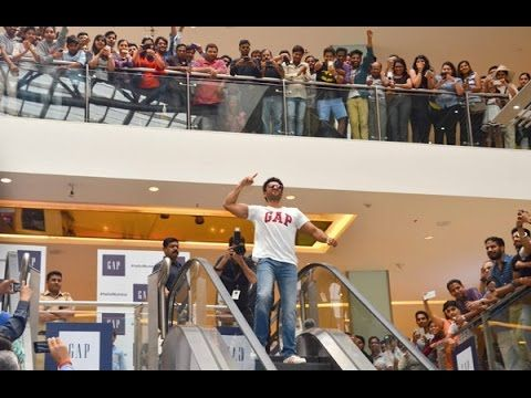 Ranveer Singh's Befikre Avatar At  GAP Store Launch