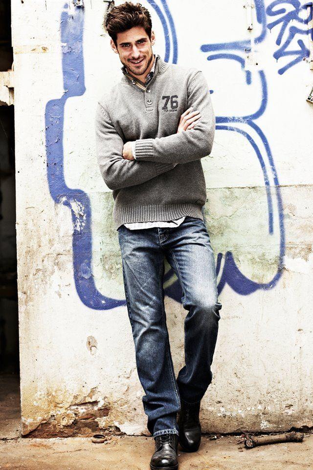 Eric Belanger men's casual style