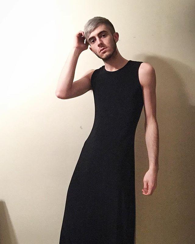 so can I rock a dress? #mensdress #fashion