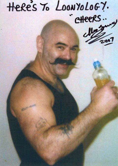 Charles Bronson the UK's most notorious prisoner and subject of  the Tom Hardy 2008 movie, Bronson