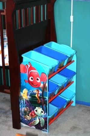 An unexpected Finding Nemo addition to the nursery!