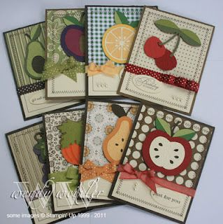 Good idea for making sets of cards from different cartridges.  then maybe childs year, country life, sentimentals, .Use stitching around the card