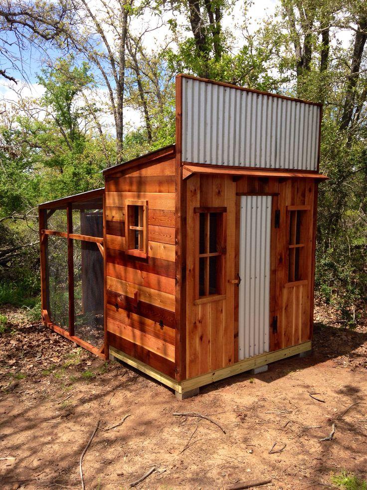 4x6 cedar western house chicken coop by texas cedar shop for 4x6 chicken coop