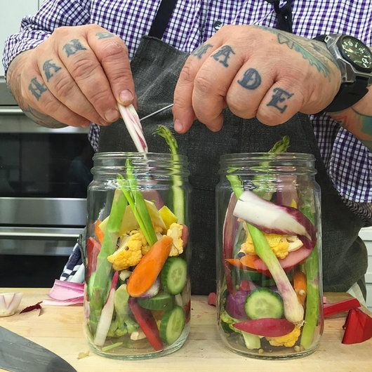Food & Wine: How to Make Spring Pickles