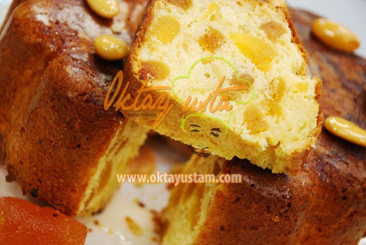 Kayısılı Bademli Kek | Oktay Ustam İlk Yemek Tarifleri Resmi Web Sitesi