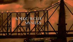 A Nero Wolfe Mystery --- A Nero Wolfe Mystery is a television series adapted from Rex Stout's classic series of detective stories that aired for two seasons (2001–2002) on A&E. Set in New York City sometime in the 1940s–1950s,[1] the stylized period drama stars Maury Chaykin as Nero Wolfe and Timothy Hutton as Archie Goodwin. A distinguishing feature of the series is its use of a repertory cast to play non-recurring roles.