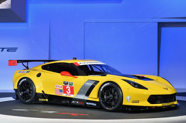 Chevy Corvette C7.R ready to tackle United SportsCar Championship [w/video]