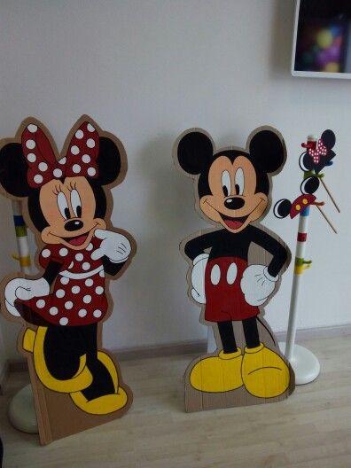 Fotocoll Mickey y Minnie