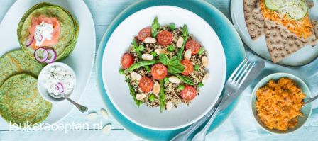 Opzoek naar een recept met weinig calorieën, probeer deze light recepten onder de 500 kcal p.p.
