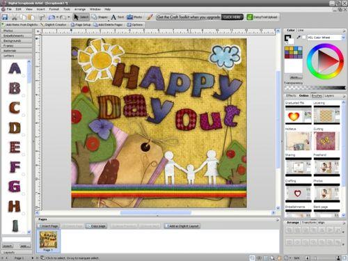 Digital Scrapbook Artist Compact é um editor de recortes . Ainda que sua função principal seja de criar álbuns de recortes , serve perfeitamente como álbum fotográfico . Na realidade podemos dizer que a função desse programa é criar álbuns de...