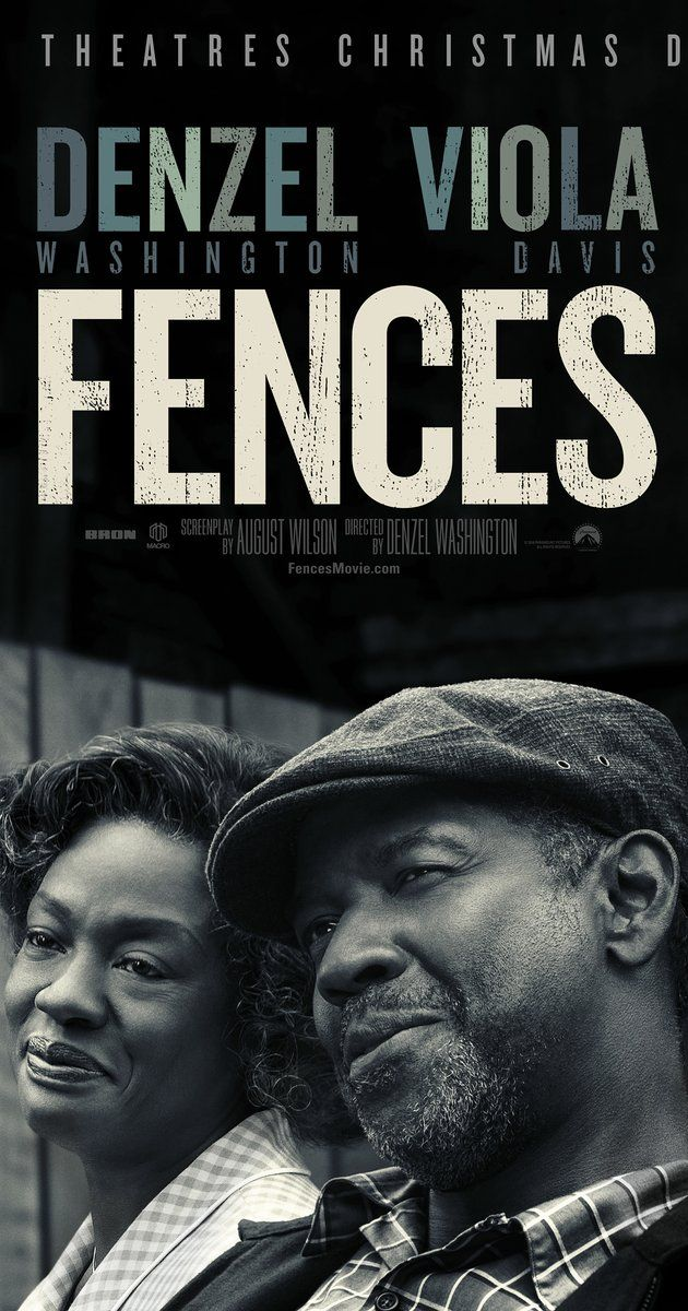 Directed by Denzel Washington.  With Denzel Washington, Viola Davis, Stephen Henderson, Jovan Adepo. A working-class African-American father tries to raise his family in the 1950s, while coming to terms with the events of his life.
