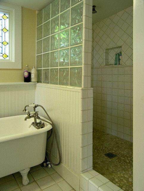 die besten 17 bilder zu glass block showers auf pinterest, Hause ideen