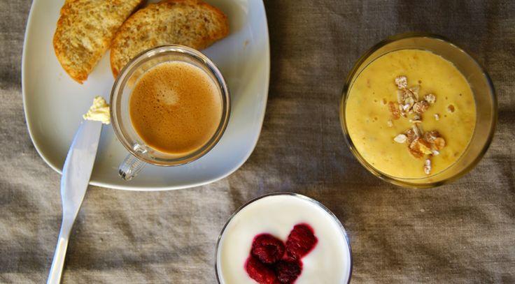 # Kedvencünk a reggeli - Mangó smoothie kardamommal