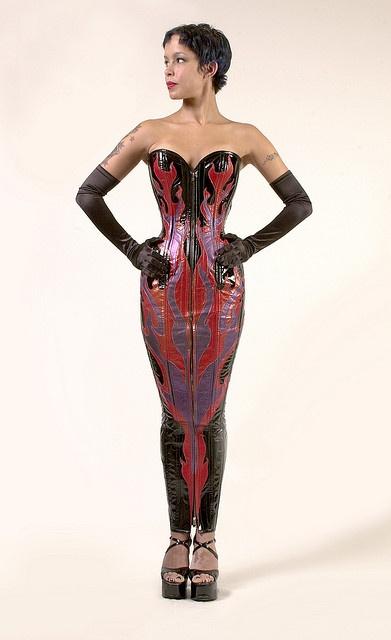 Dress By Dark Garden Hobble Skirt Extreme