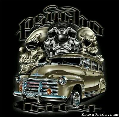 1141 best lowrider arte by guillermo images on pinterest black t shirt black tee outfit and - Brown pride lowrider ...