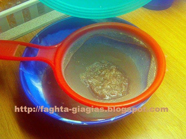 Λικέρ σταφύλι - Τα φαγητά της γιαγιάς