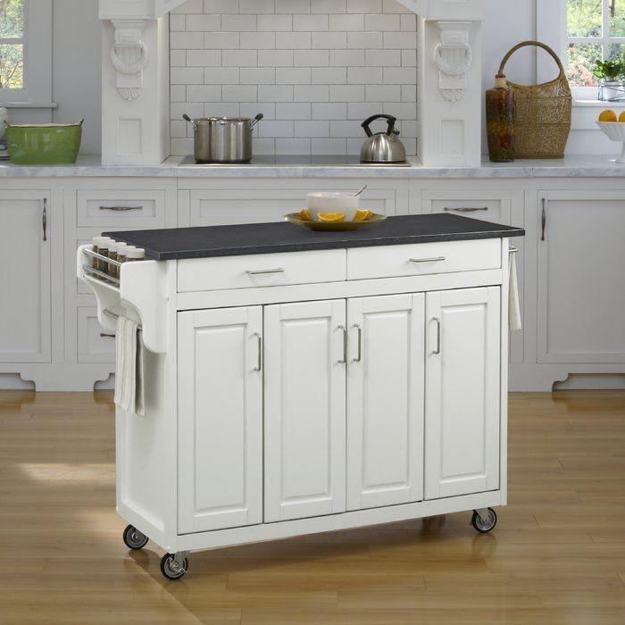 Milford Kitchen Island Kitchen Tops White Kitchen Cart Kitchen Cart