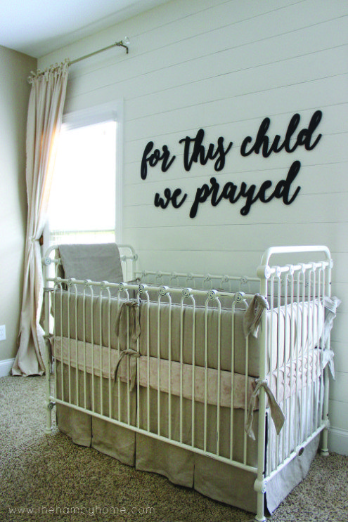 The Perfect Classic Vintage Inspired Crib