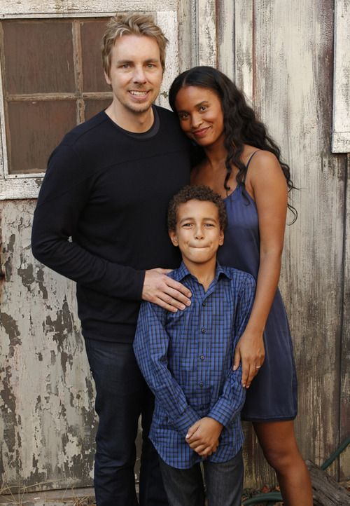 Joy Bryant with her husband & their son from television show, Partnership I think