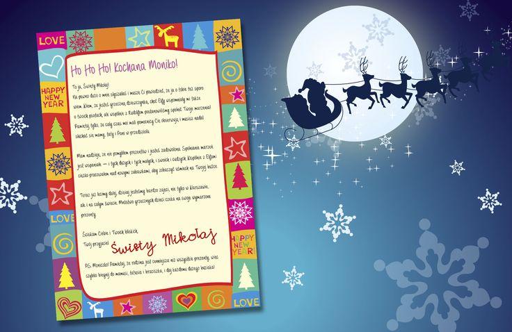 List od Świętego Mikołaja drukowany jest na papierze A4. Zapakowany w czerwoną kopertę z ozdobnym sznurkiem, znaczkiem oraz pieczęcią lakową przyjdzie do Was pocztą. W kopercie znajdzie się też mały upominek dla dziecka.  #list #święty #mikołaj #gwiazdka #prezent #dziecko #boże #narodzenie #memorabli  Zamówienia można składać na  https://www.facebook.com/pg/memorabli/photos/?tab=album&album_id=1813267438916011